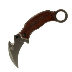 Knife Karambit Wooden Sun