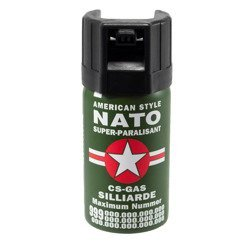 Pfefferspray  Nato SUPER PARALISANT 40 ml