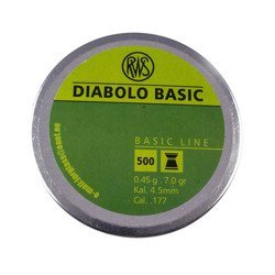 Śrut RWS Diabolo Basic 4,5mm